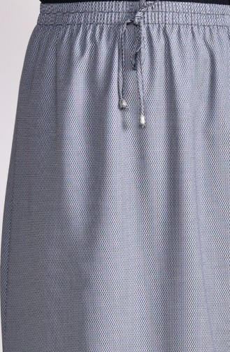 Jupe Taille élastique 1001I-01 Gris 1001I-01
