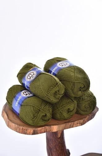 Khaki Knitting Rope 3019-077