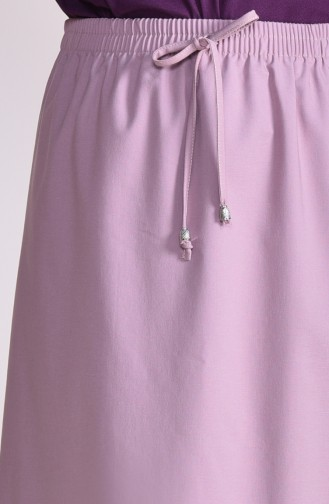 Plated Waist Skirt 1001-02 Powder 1001-02