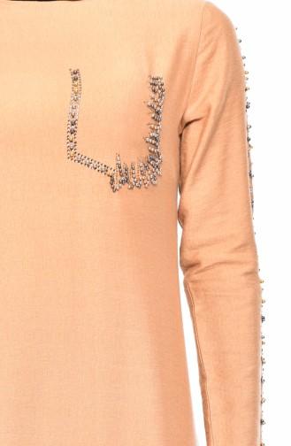 Pearl Dress 0192-01 Camel 0192-01