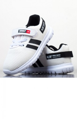 White Kids Shoes 19BYJMP0002116