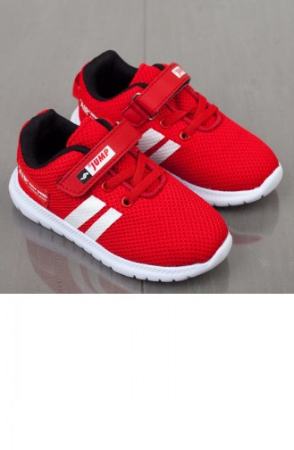 Red Kids Shoes 19BYJMP00022042