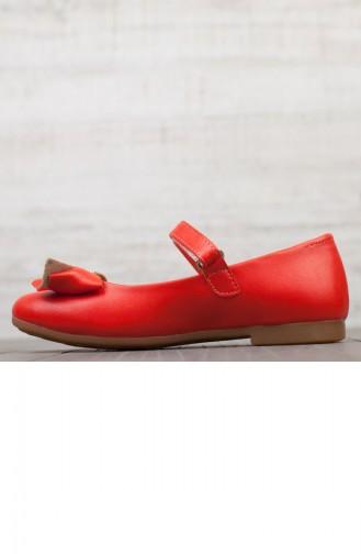 Chaussures Pour Enfant A19Pyvet0001051 Corail Cuir 19PYVET0001051