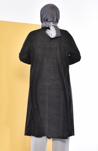 Black Cardigan 7856-01