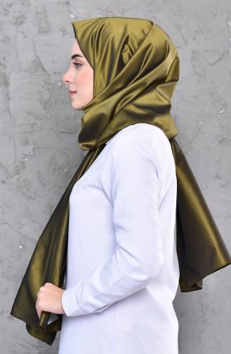 Plain Taffeta Shawl 4277-01 dark Green 4277-01