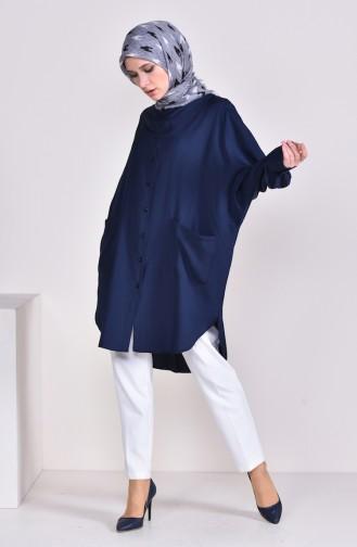 Tunique Bleu Marine 6480-07