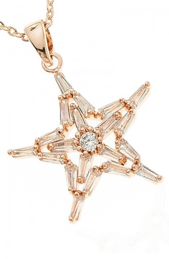 Collier Plaqué Or Rose 09-0002-48-23 09-0002-48-23