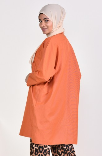 Slit Pocketed Tunic 6352-13 Tile 6352-13