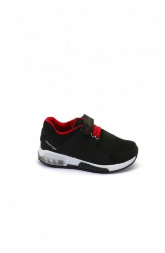 Slazenger Sport Kids Shoes Black Red 80297