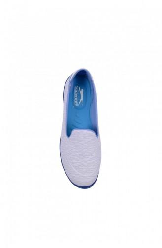 Slazenger Saba Günlük Giyim Kadın Ayakkabı Kırık Beyaz 80274