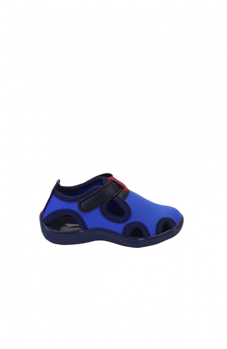 1210fbec6 Slazenger Daily Child Shoes Saks Blue 81724 ...