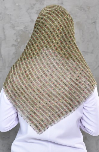 Light Khaki Green Scarf 2219-16