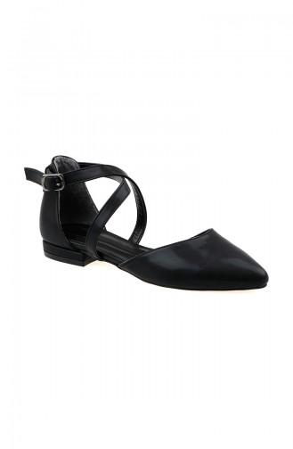 Black Heeled Shoes 156-01