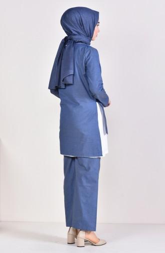 3 Pisces Suit 5227-05 light Blue 5227-05