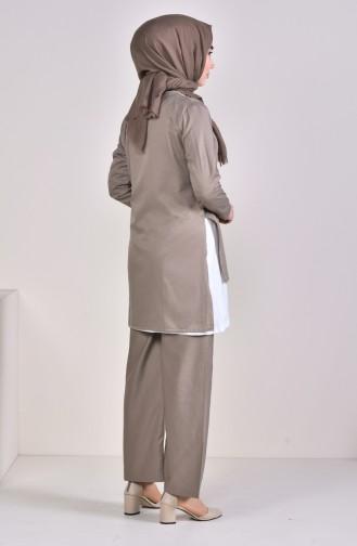 3 Pisces Suit 5227-07 Mink 5227-07
