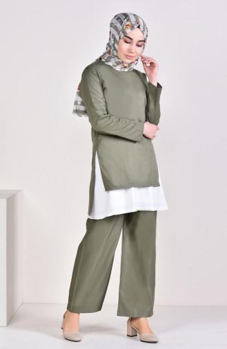 Khaki Suit 5227-08