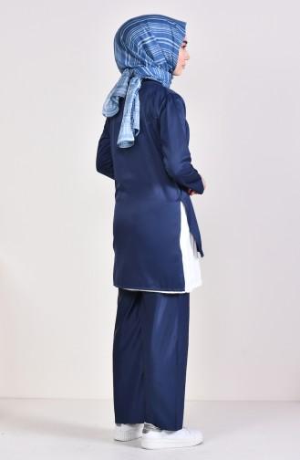 3 Pisces Suit 5227-10 dark Navy 5227-10