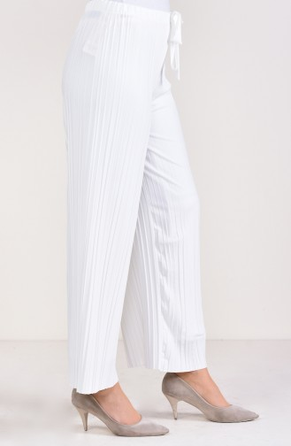 Pleated Pants Cuff Trousers 2150-06 light Beige 2150-06