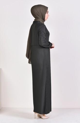 Robe Manches élastique 5254-04 Khaki 5254-04