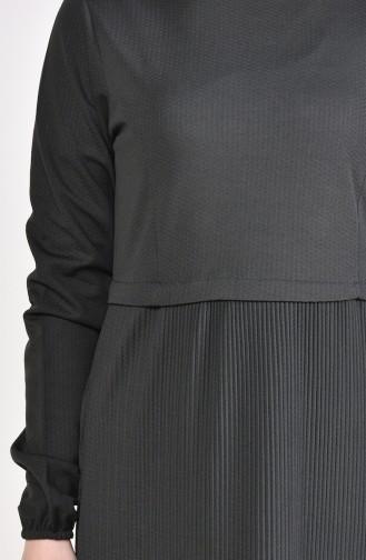 Sleeve Elastic Dress 5254-04 Khaki 5254-04