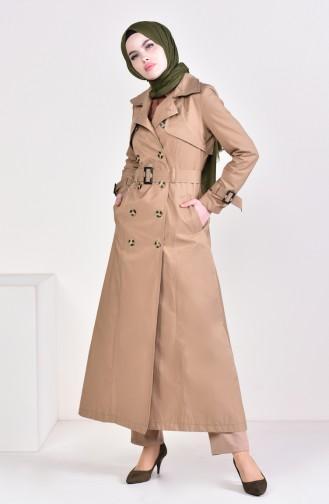 Camel Trench Coats Models 6714-03