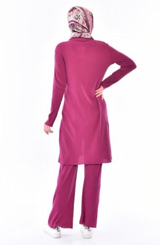 Cardigan Pants Binary Suit 3300-17 Light Plum 3300-17
