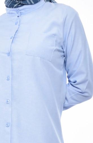 Judge Collar Pocket Tunic 2484-06 Blue 2484-06