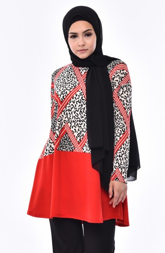 Red Blouse 4587-03