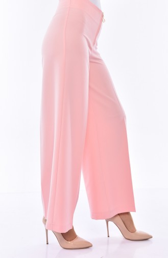 Pantalon Large a Fermeture 3095-13 Poudre 3095-13