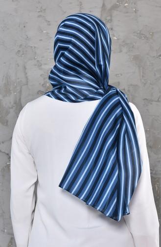 Patterned Cotton Shawl 95269-03 Purple 95269-03