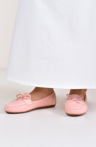 Women´s Flat Shoes (	Ballerina ) 100-11 Powder 100-11
