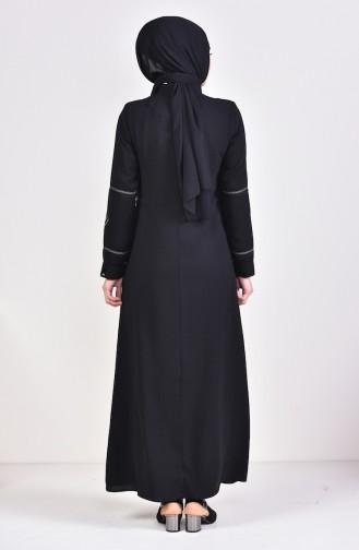 Black Abaya 5925-02