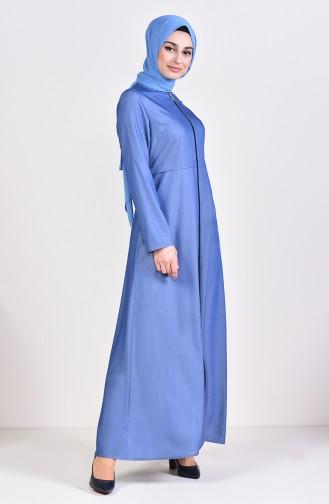 Tencel Jeans Abaya 1018-01 Blue Jeans 1018-01
