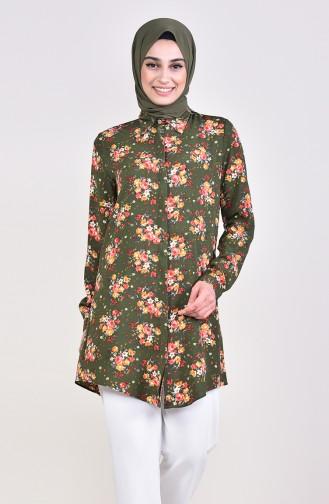 قميص كاكي 2064-02