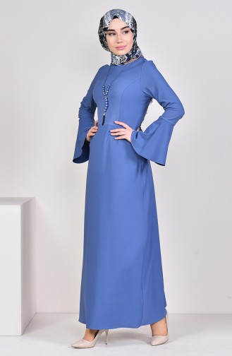 Indigo Dress 2050-14
