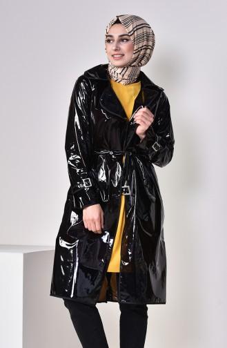 Schwarz Regenmantel 12001-01