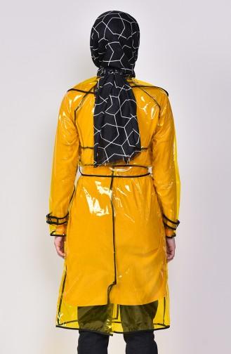 Gelb Regenmantel 12001-04