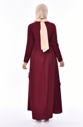 Robe a Froufrous 4520-05 Cerise 4520-05