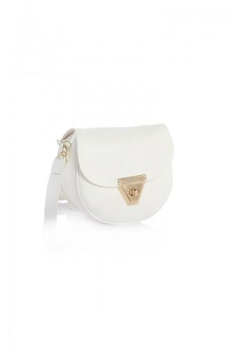 White Shoulder Bag 09Z-07