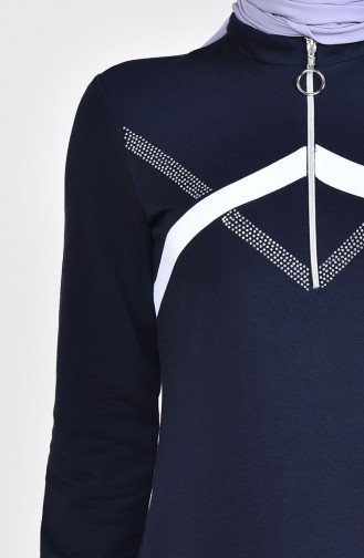 Robe Sport a Fermeture 9035-01 Bleu Marine 9035-01