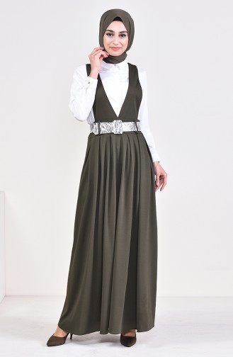 Belt Salopet Gilet Dress 5583-04 Khaki 5583-04