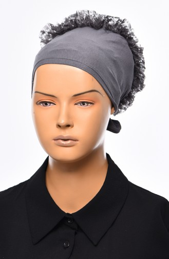 Lace Frilly Bonnet 901392-13 Smoked 901392-13