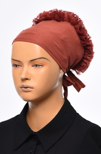 Lace Frilly Bonnet 901392-14 Onion Shell 901392-14