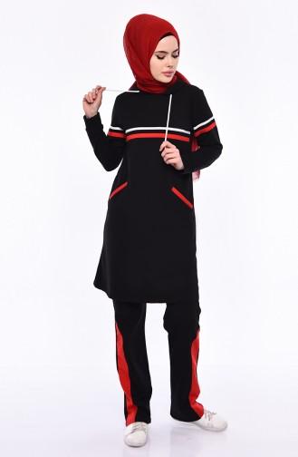 Eşofman Takım 1421-01 Siyah