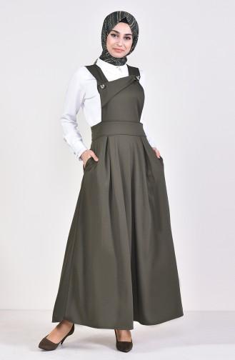 Salopet Gilet Dress 5514-04 Khaki 5514-04