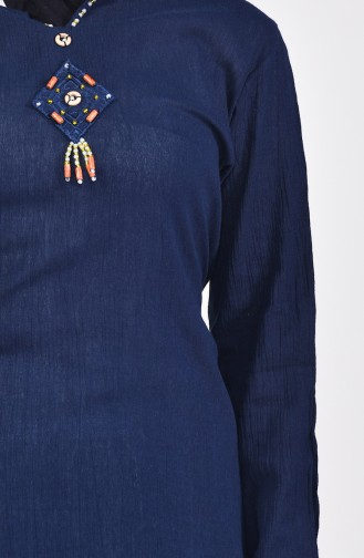 Navy Blue Tuniek 0505-01