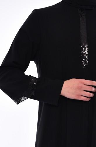 عباءه أسود 1040A-01