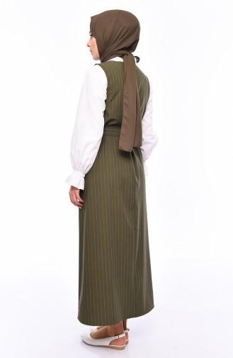 Shirt Gilet Double Suit 3019-04 Khaki 3019-04