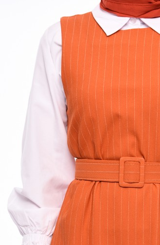 Shirt Gilet Double Suit 3019-06 Orange 3019-06