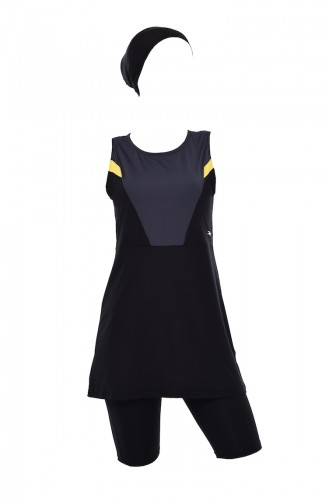 Anthracite Swimsuit Hijab 380-03